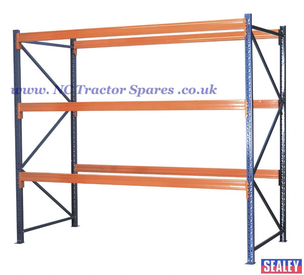 Racking Unit with 3 Beam Sets 1000kg Capacity Per Level